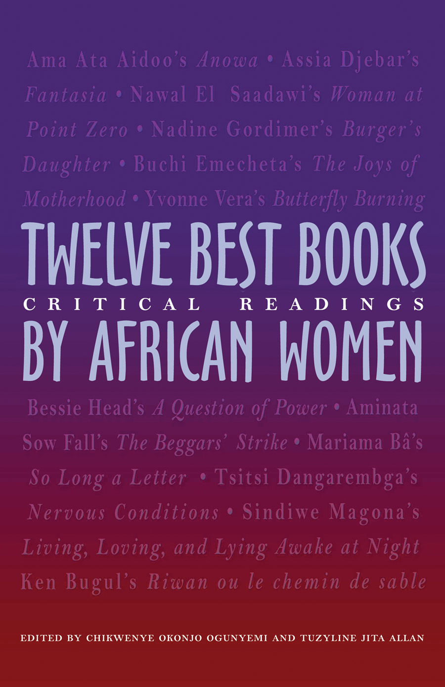 the twelve best books by african women middot ohio university press cover