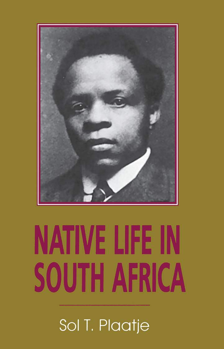 Cover of 'Native Life in South Africa'