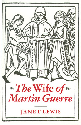 Cover of 'The  Wife of Martin Guerre'