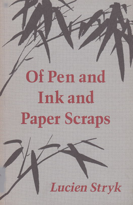 Cover of 'Of Pen and Ink and Paper Scraps'