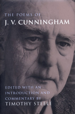 Cover of 'The  Poems of J. V. Cunningham'