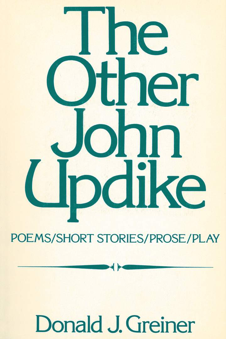 Cover of 'The Other John Updike'