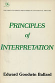 Cover of 'Principles of Interpretation'