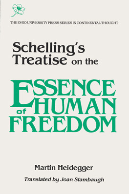 Cover of 'Schelling's Treatise on the Essence of Human Freedom'