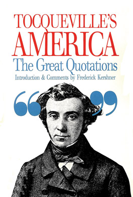 Cover of 'Tocqueville's America'