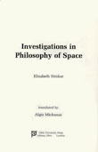 Cover of Investigations in Philosophy of Space