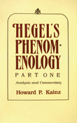 Cover of Hegel's Phenomenology, Part 1