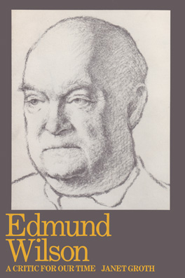 Cover of 'Edmund Wilson'