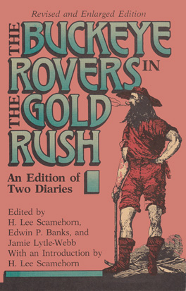 Cover of 'Buckeye Rovers in the Gold Rush'