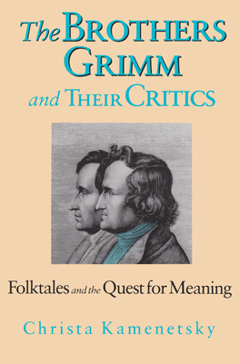 Cover of 'Brothers Grimm and Their Critics'