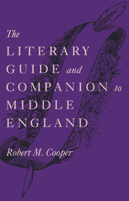 Cover of 'The Literary Guide and Companion to Middle England'
