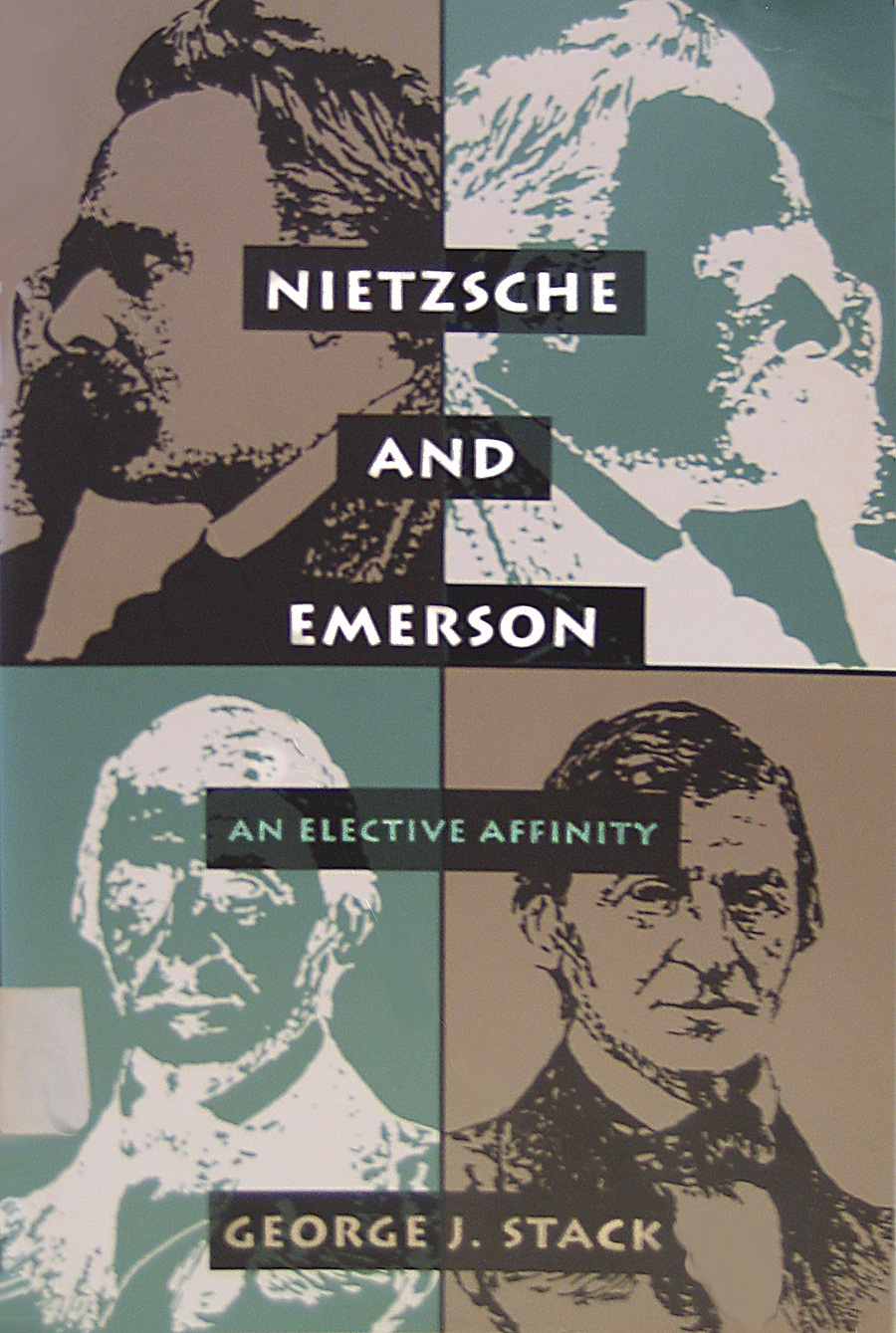 Cover of 'Nietzsche and Emerson'
