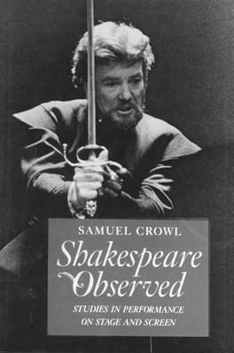 Cover of 'Shakespeare Observed'