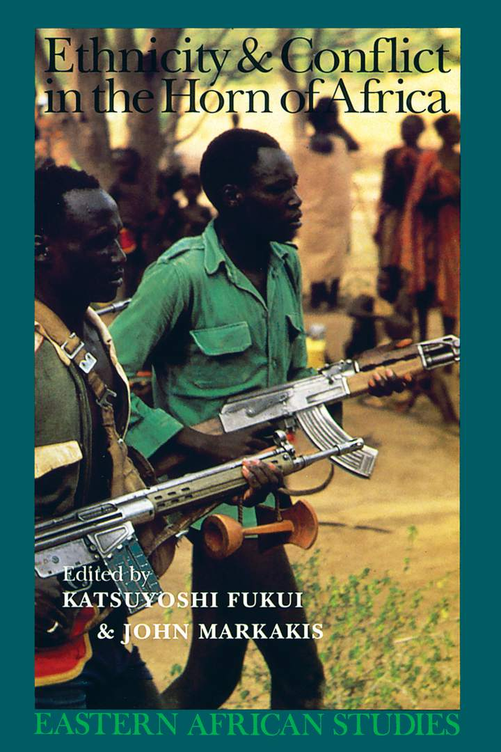 Cover of 'Ethnicity & Conflict in the Horn of Africa'