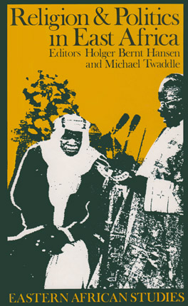 Cover of Religion and Politics in East Africa