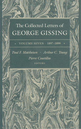Cover of 'The  Collected Letters of George Gissing Volume 7'