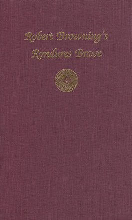 Cover of Robert Browning's Rondures Brave