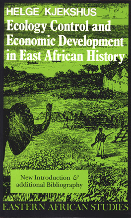 Cover of 'Ecology Control and Economic Development in East African History'