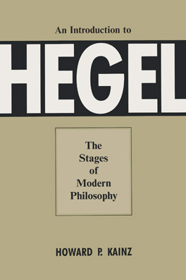 Cover of 'An Introduction To Hegel'