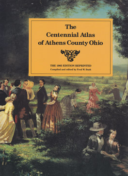 Cover of 'The Centennial Atlas of Athens County, Ohio'