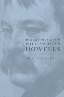Cover of 'Selected Short Stories of William Dean Howells'