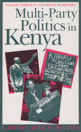 Cover of 'Multi-Party Politics in Kenya'