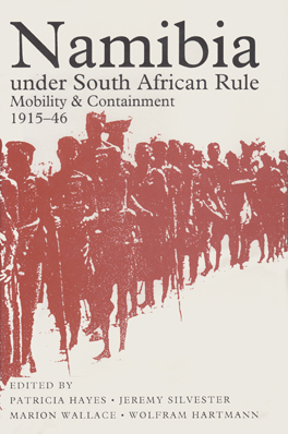 Cover of 'Namibia under South African Rule'