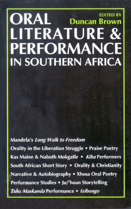 Cover of 'Oral Literature and Performance in Southern Africa'
