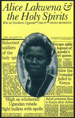 Cover of 'Alice Lakwena and the Holy Spirits'
