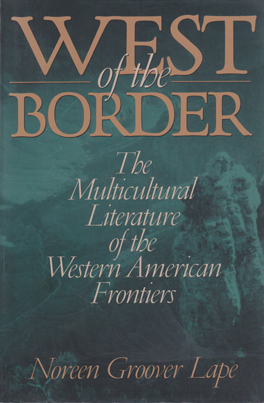Cover of 'West of the Border'