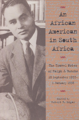 Cover of 'An African American in South Africa'