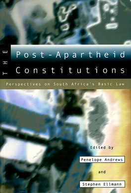 Cover of 'The  Post-Apartheid Constitutions'