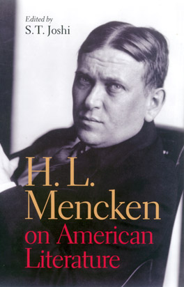 Cover of 'H. L. Mencken on American Literature'