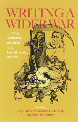 Cover of 'Writing a Wider War'