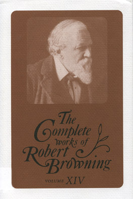Cover of 'The  Complete Works of Robert Browning, Volume XIV'