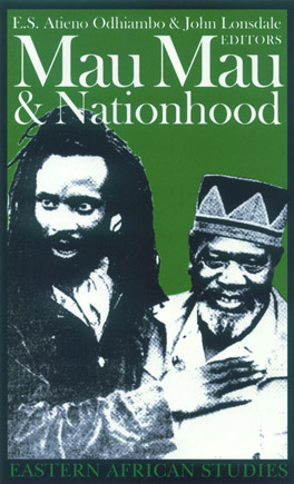 Cover of 'Mau Mau and Nationhood'