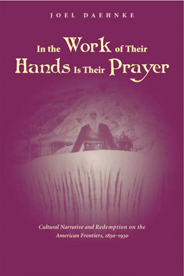 Cover of 'In the Work of Their Hands Is Their Prayer'