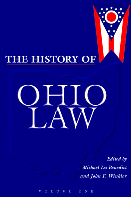 Cover of 'The  History of Ohio Law'