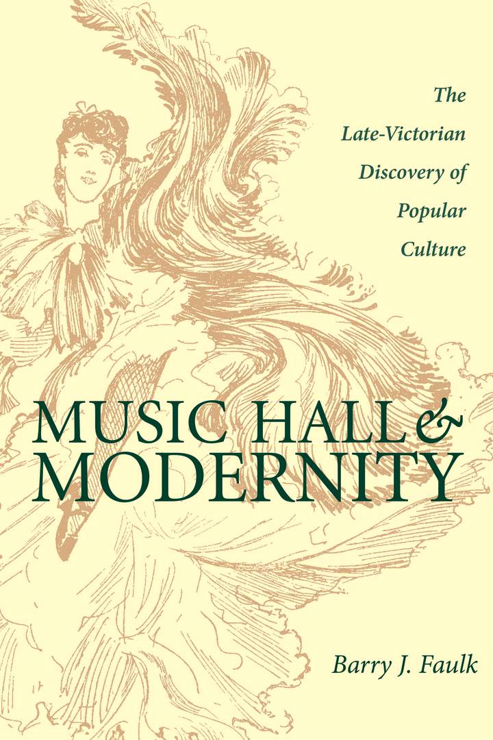 Cover of 'Music Hall and Modernity'