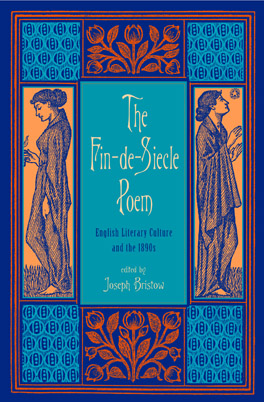 Cover of 'The Fin-de-Siècle Poem'