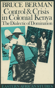 Cover of 'Control and Crisis in Colonial Kenya'