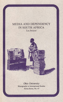 Cover of 'Media and Dependency in South Africa'
