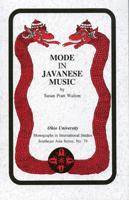 Cover of Mode in Javanese Music