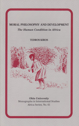 Cover of Moral Philosophy and Development