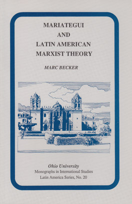 Cover of Mariátegui and Latin American Marxist Theory