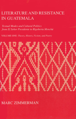 Cover of 'Literature and Resistance in Guatemala'