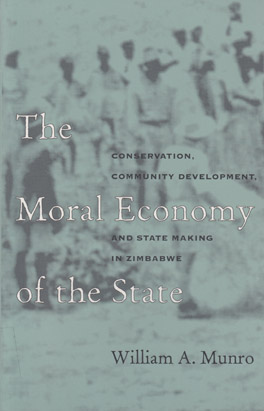Cover of 'The  Moral Economy of the State'