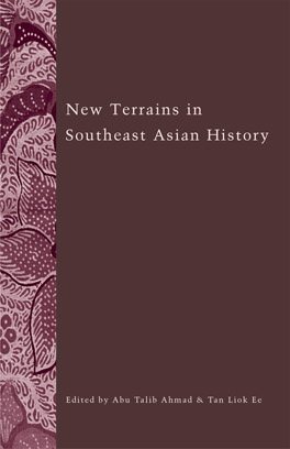 Cover of New Terrains in Southeast Asian History