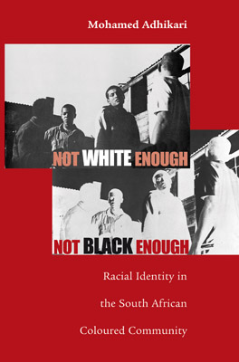 Cover of Not White Enough, Not Black Enough