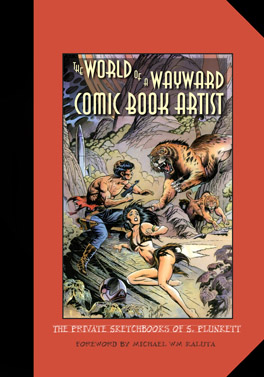 Cover of 'The World of a Wayward Comic Book Artist'